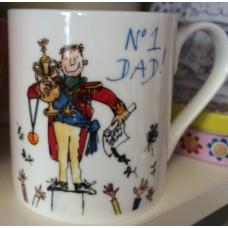 Quentin Blake No 1 Dad ( Father's Day or Birthday ) Coffee Mug