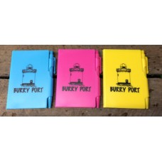 Burry Port Neon Notepad with Pen