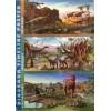 Dinosaur Full Colour Timeline A3 Poster