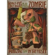 Minecraft Half Pig Half Man Maxi Poster