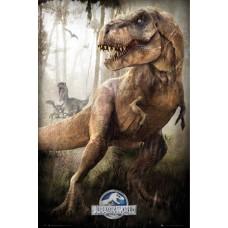 Jurassic World T-Rex Film Maxi Poster