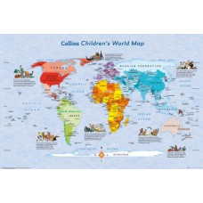 Children's Map of the World Maxi Poster