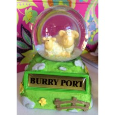 Burry Port Sheep Snow Globe