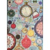 Vintage Clocks Wrapping Paper (and/or Poster)
