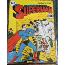 Superman Jailbreak Comic Cover A3 Metal Sign